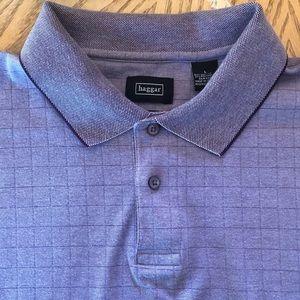 Men polo t-shirt violet